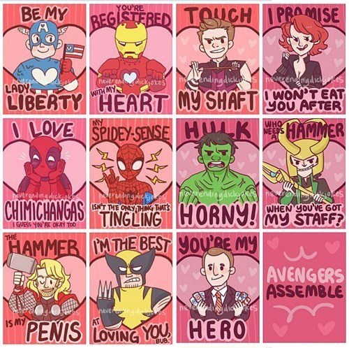 Yves ヾ W ノ On Twitter For The Assvengers Lol Mscurriie Namanda22 Stephycakesbby Happyvalentinesday Loaf Http T Co Eewxl4qt