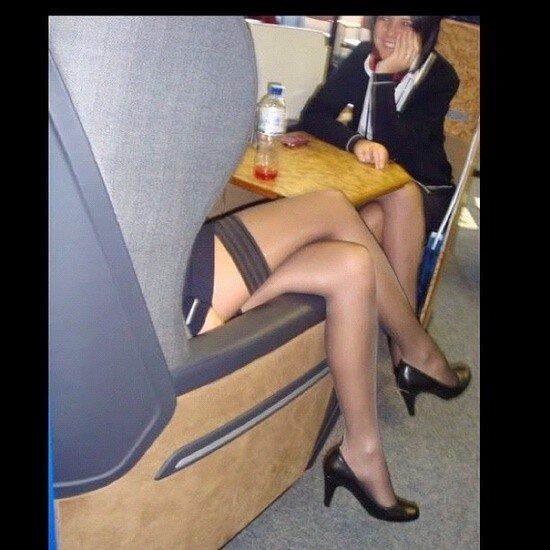 Stewardess Nylon 32