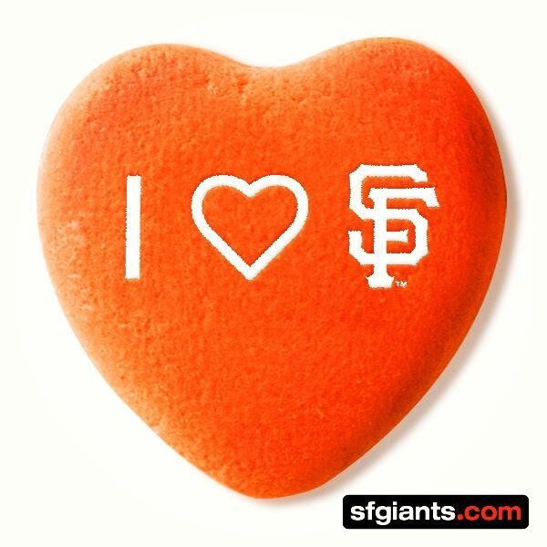 "san francisco giants on twitter: ""this valentine's day my heart, Ideas"