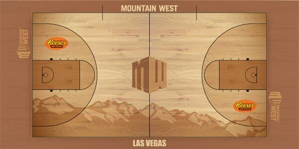 Mountain West Unveils Sweet Floor Design For League Tourney