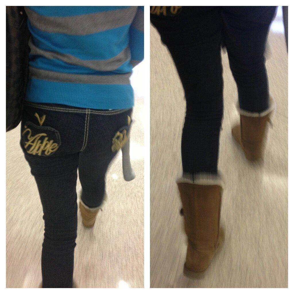 dem apple bottom jeans