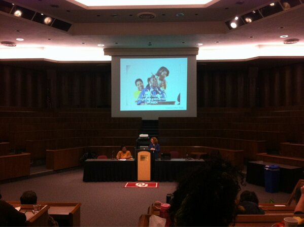 "Our ED @LynnPaltrow introduces the amazing Loretta Ross. ""In Defense of Roe"" http://vimeo.com/m/4873057 #takeroot13 http://pic.twitter.com/ANvWg3zH"
