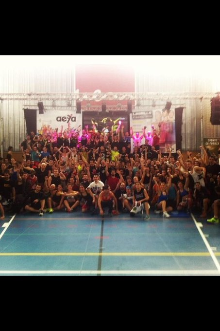 Body Combat 55 en Madrid! #awesome #staywiththefight
