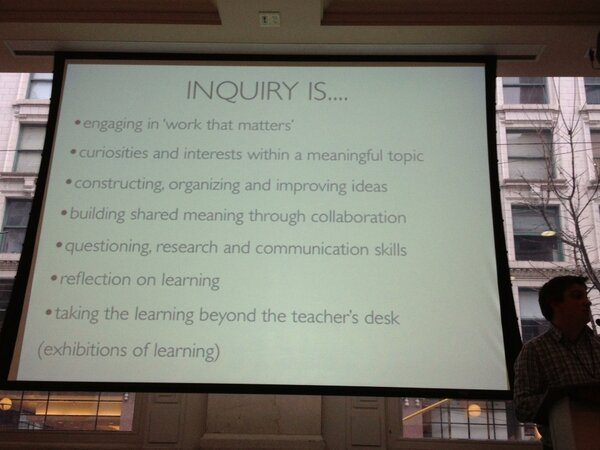 RT @ChrisWejr: Inquiry is... #bcedsfu http://pic.twitter.com/7cZ8PKKd
