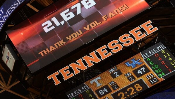 Great day to be a Vol! Thank you for the support! http://pic.twitter.com/lWFuE8yd