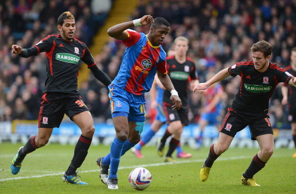 Why Sir Alex Ferguson signed him up: Wilfried Zahas highlights (Crystal Palace) v Boro