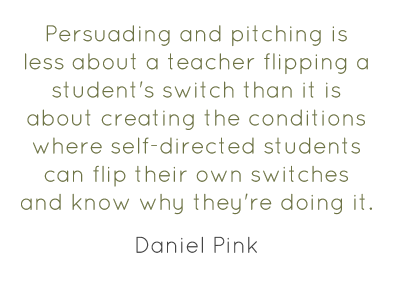 Here's a useful quote from my new Ed Week interview with @DanielPink http://blogs.edweek.org/teachers/classroom_qa_with_larry_ferlazzo/2013/02/teachers_as_persuaders_an_interview_with_daniel_pink.html http://pic.twitter.com/D6P99uvL