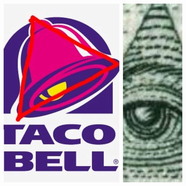 Taco Bell Illuminati t...