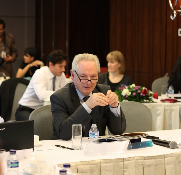 Minister Francis Maude at the @opengovpart strategy session today http://pic.twitter.com/RpHfOPwg