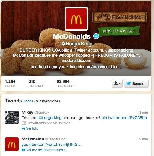 Ahora en el BK te ponen Big Macs.
