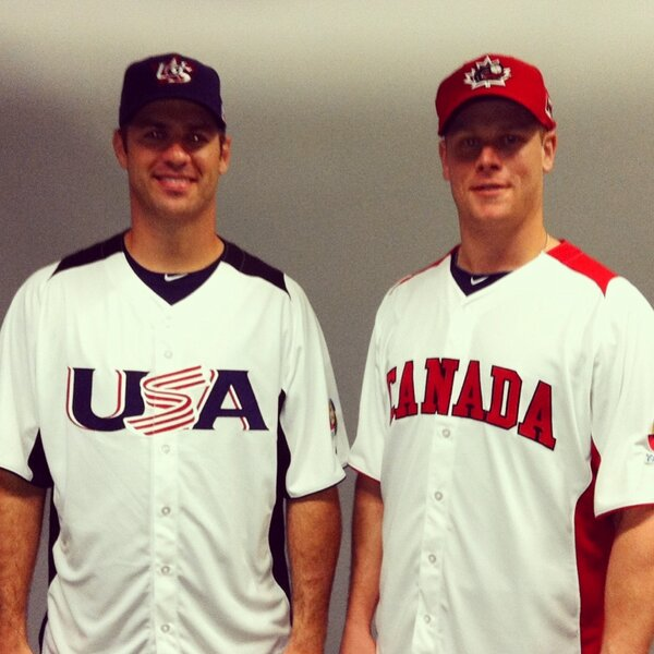 USA vs. Canada - Mauer vs. Morneau