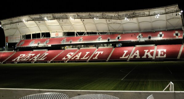 I think one of my best pictures of Rio Tinto Stadium, home of #RSL http://pic.twitter.com/WbbICjxd
