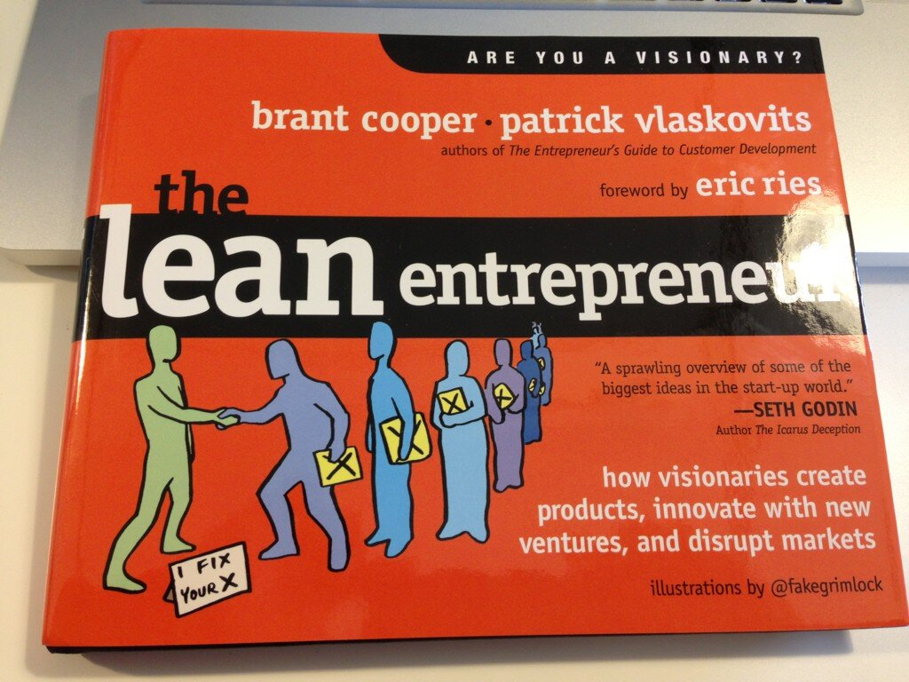Twitter / JohnBPetersen: Boom! The Lean Entrepreneur ...