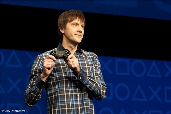 Presentación del mando Dualshock 4 de la PS4
