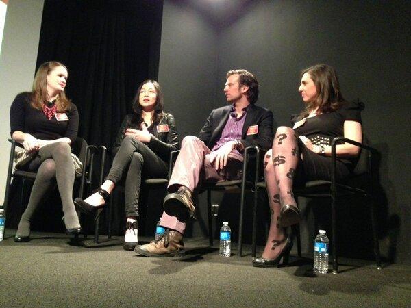 Democratization Of Fashion panel ft. @katestud @stefanloble @eugeniachien @carriehammer #smwfashion http://pic.twitter.com/PIJMaP7Ctb