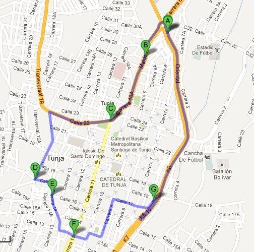 La Pecosa Erika G On Twitter Mapa Delimitación Para Nuevo - Tunja map