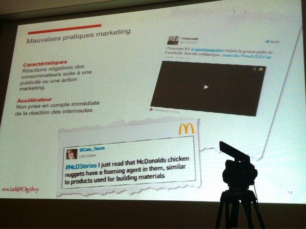 #smwcom 3ème cause les mauvaises pratiques marketing (réactions négatives des consommateurs) http://pic.twitter.com/dlYSBa4NHt