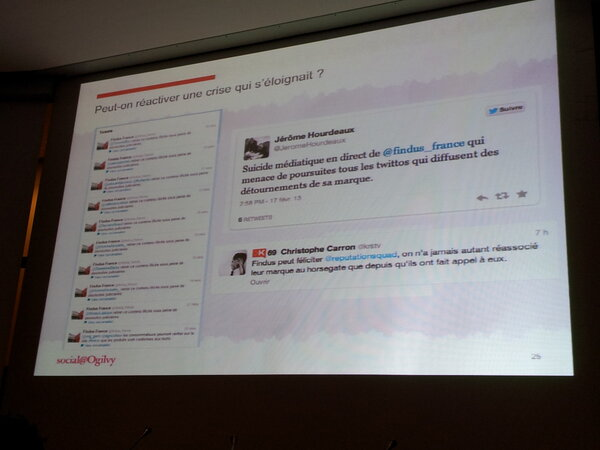 RT @MouniraHamdi: Peut on reactiver une #crise qui s'eloignait? Oui l'ex en image ac le cas #Findus et ses demarches juridiques #smwcom http://pic.twitter.com/1sPbZUTaSh