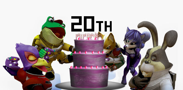 Starfox 20th Anniversary