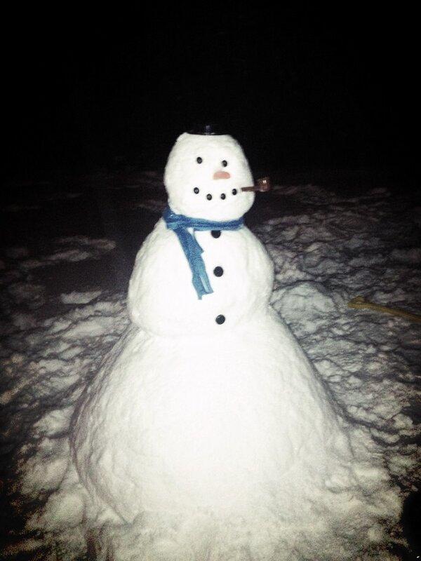 I'm a professional Snow Man maker!!! 😃❄⛄Meet Packer! #snowday http://pic.twitter.com/rhU4vBvNbo