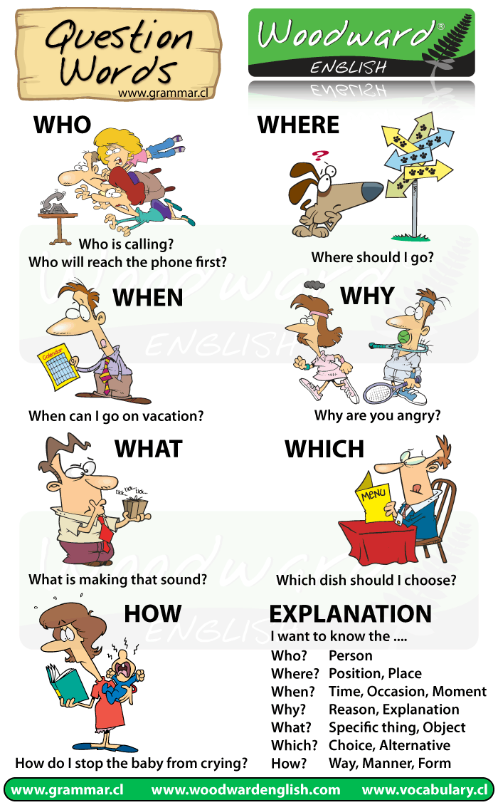 Learn English on Twitter: u0026quot;NEW Chart: Question Words in ...