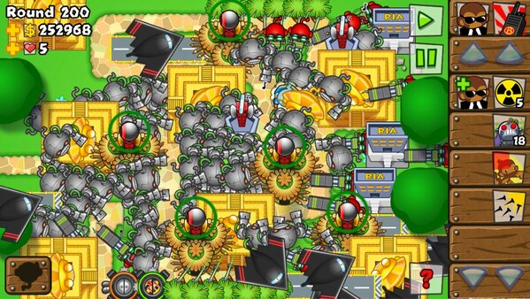 bloons tower defence 5 how to get rank 10