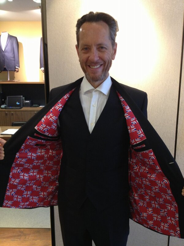 Richard E Grant On Twitter Austin Reed Kitted Me 4 Dom Hemmingway Film With Jude Law Bespoked Me With Customised Flag Lined Suit Privileged Http T Co Gymrzed4tk