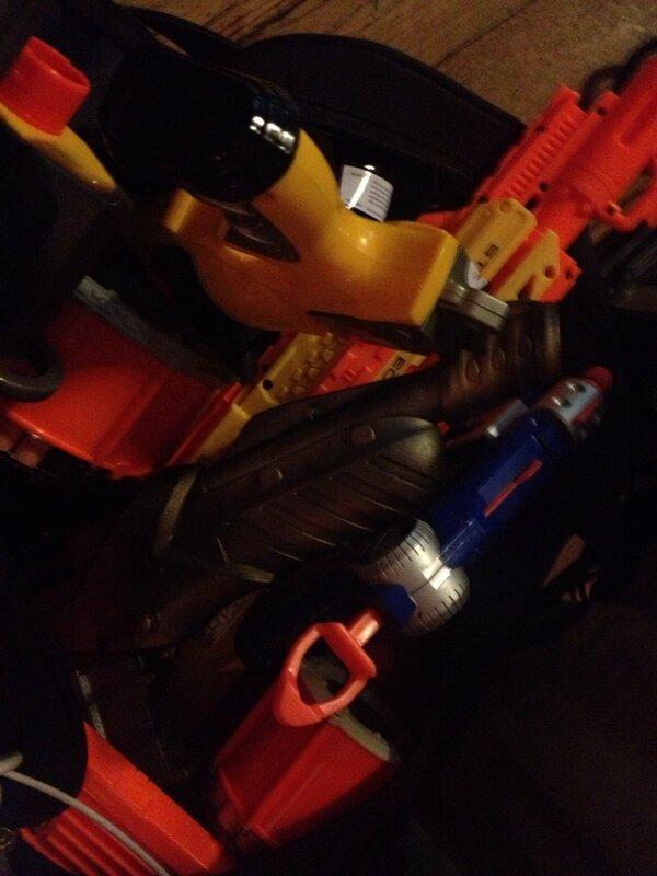Nerf guns @thestory2013 #thestory2013 http://pic.twitter.com/lKJVEcG4Ie