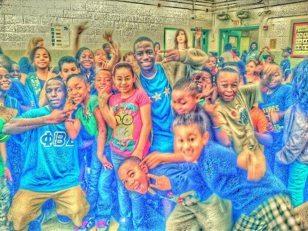 gamma_pi_sigmas on twitter community service at garden city elementary school jacksonville florida httptcow5aofbougd - Garden City Elementary School