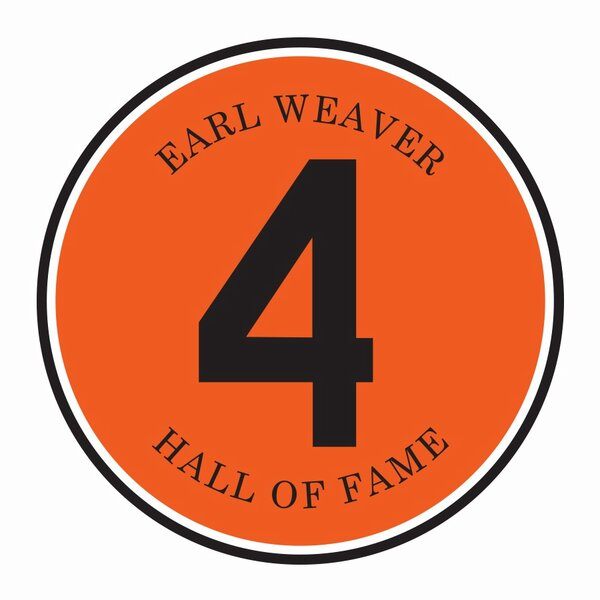Here is the patch the Orioles will wear in 2013 on their jersey sleeve in honor of Earl Weaver
