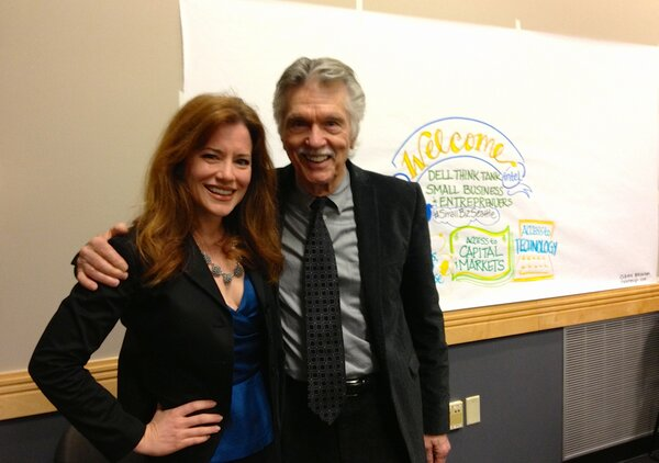 W/ Actor & Guess model, Tom Skerritt (VIPER) at #smallbizseattle summit Inspired he's part of Trep community #DellEIR http://pic.twitter.com/Aq5XfFhXjz