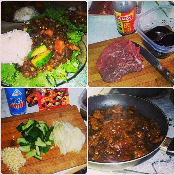 Мясо по тайский рецепт