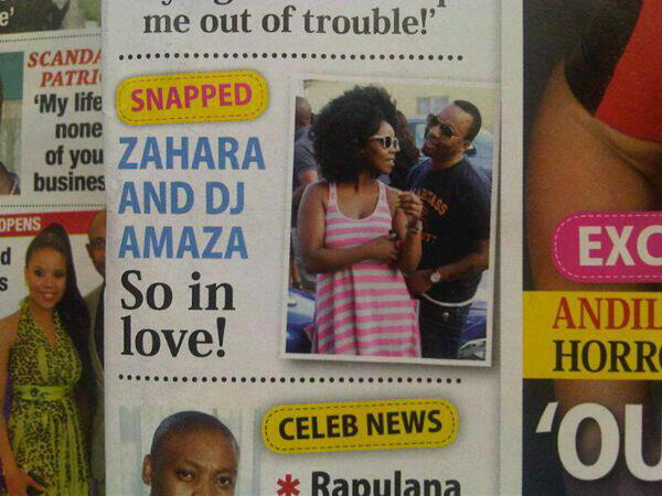 is zahara still dating amaza