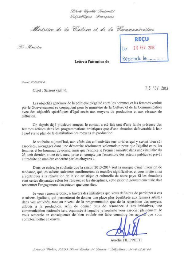 cultureveille on twitter   u0026quot lettre officielle  ministerecc