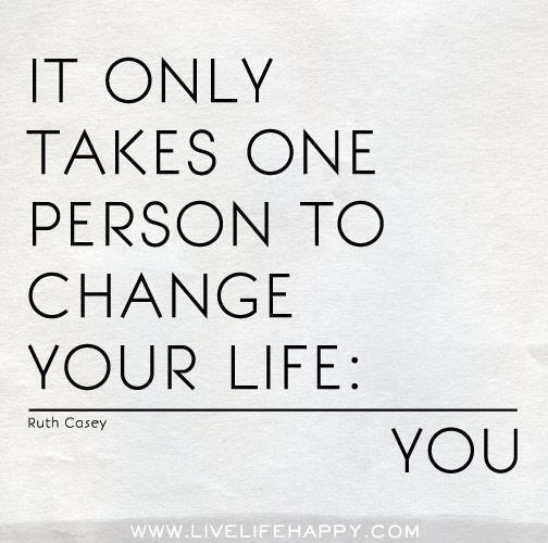 Twitter / JoyAndLife: It only takes one person to ...