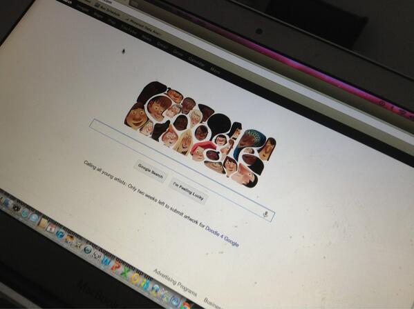 Twitter / katierosman: Love the @googledoodle for ...