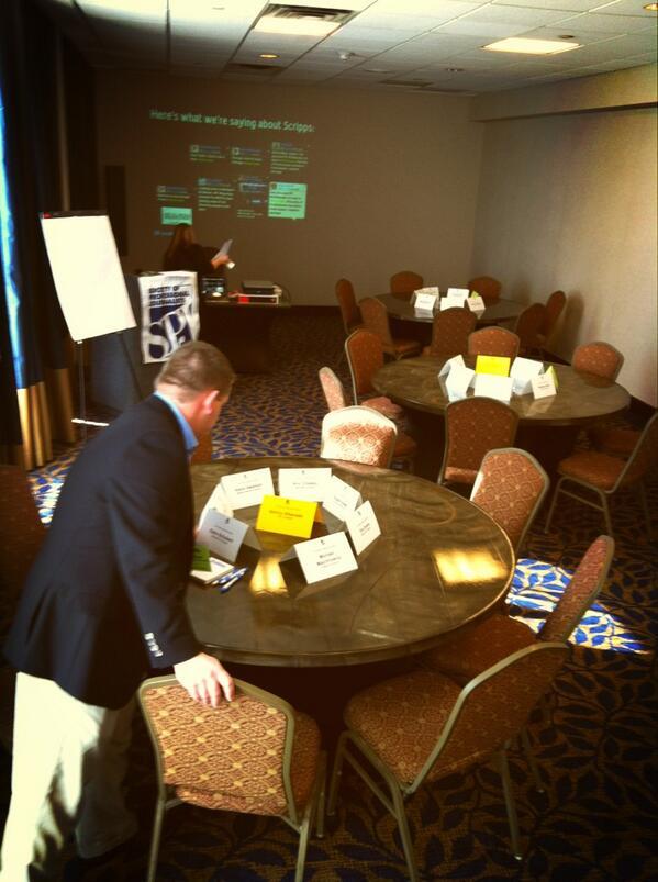 Setting up for #SPJscripps leadership institute. Leggo. http://pic.twitter.com/j4G3D7F2F0