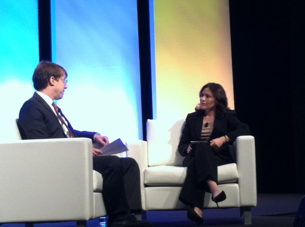 Edith Ramirez, FTC Chair, speaks at the IAPP Global Summit about privacy.