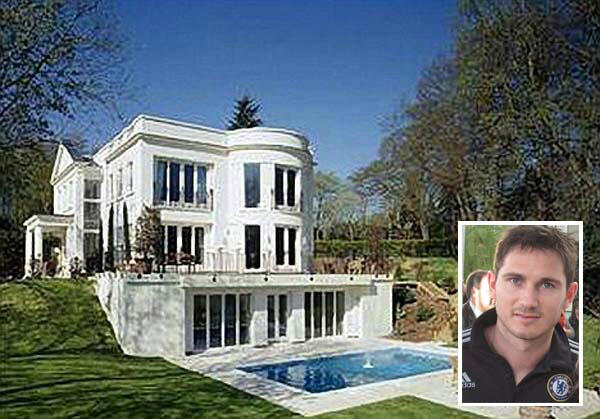 Frank Lampard house in
