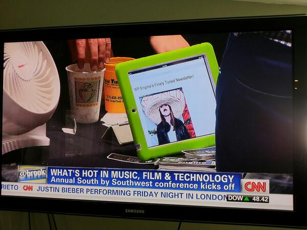Twitter / williamsba: Just noticed @wpengine on CNN ...