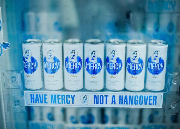 Twitter / DrinkMercy: Don't make the weekend stop ...