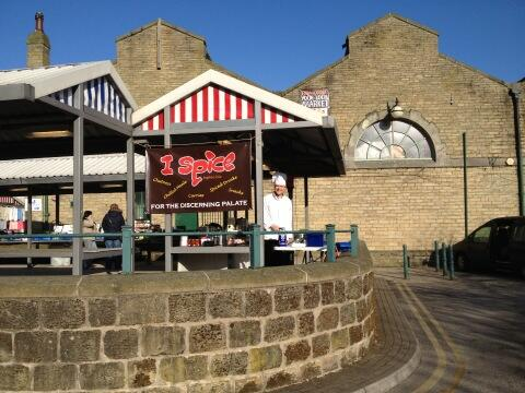 Twitter / IspiceHB: Today at #Todmorden Market ...
