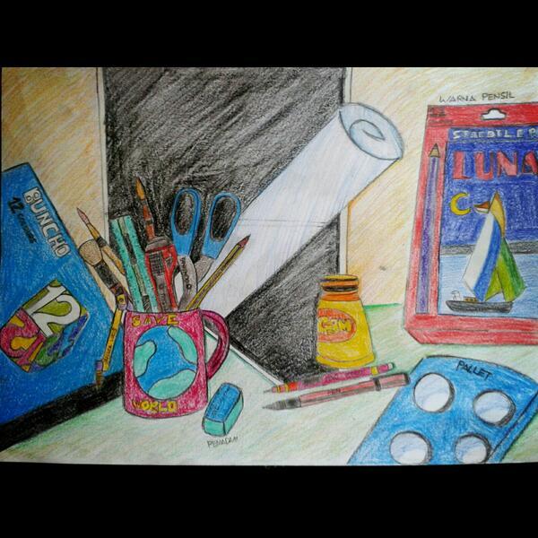 Seni Visual Lukisan Alat Dan Bahan Seni Seputar Bahan