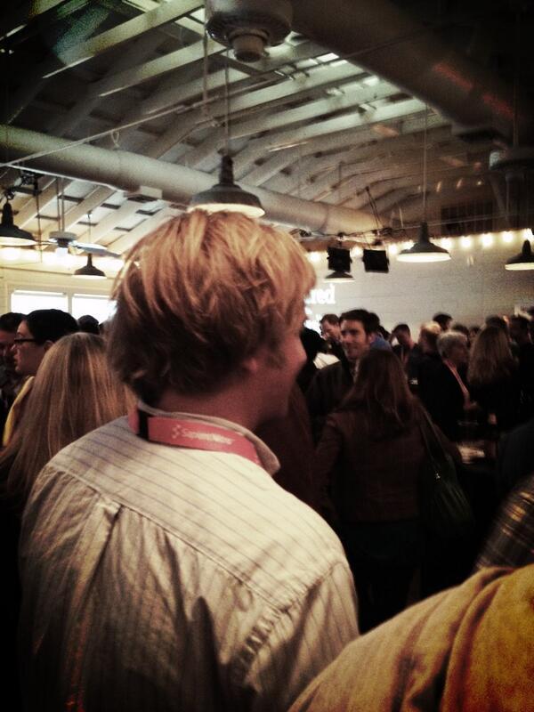 Twitter / haleyhebert: Full house at #Cisco's #Awesomest ...