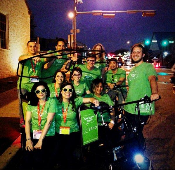 Twitter / krisellelaran: Team @ZenoGroup keeping Austin ...