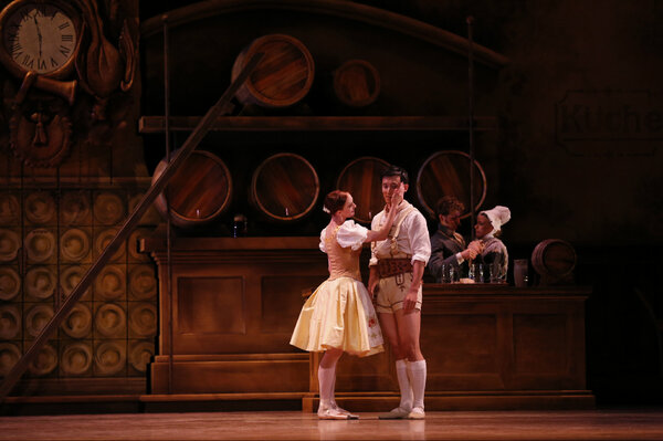 Here you go 4 your viewing pleasure @auchmill The romance of Bier Halle: Qi Huan & Gillian Murphy in #MadetoMove http://pic.twitter.com/RmnvqmZBPb