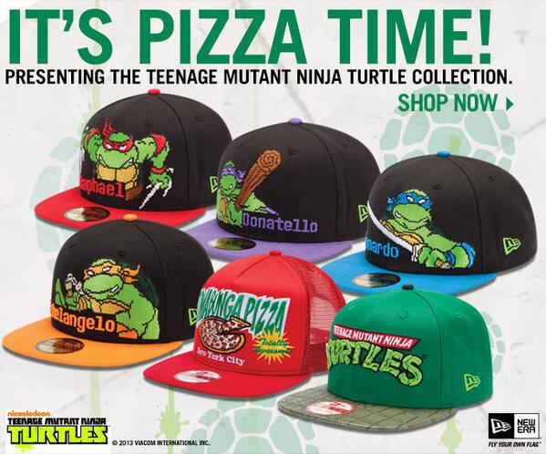 "00e479d94e2 "" NewEraCap  The Teenage Mutant Ninja Turtles Collection. Available now   http   bit.ly NE TMNT pic.twitter.com fu0xw3zz5J"" ミュータントタートルズだ欲しい!"