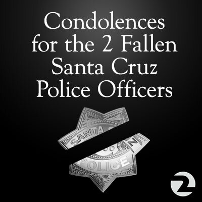 RT to express your condolences for the 2 #SantaCruz officers killed in the line of duty today. #restinpeace http://pic.twitter.com/OciNpVLNuh