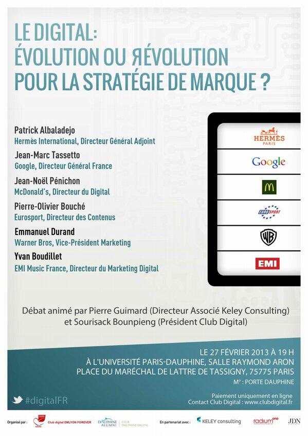 #DigitalFR Après le #Tedx retrouvez @NellyStanMusiq ce soir à l'Université #ParisDauphine http://pic.twitter.com/raVoA55LXs
