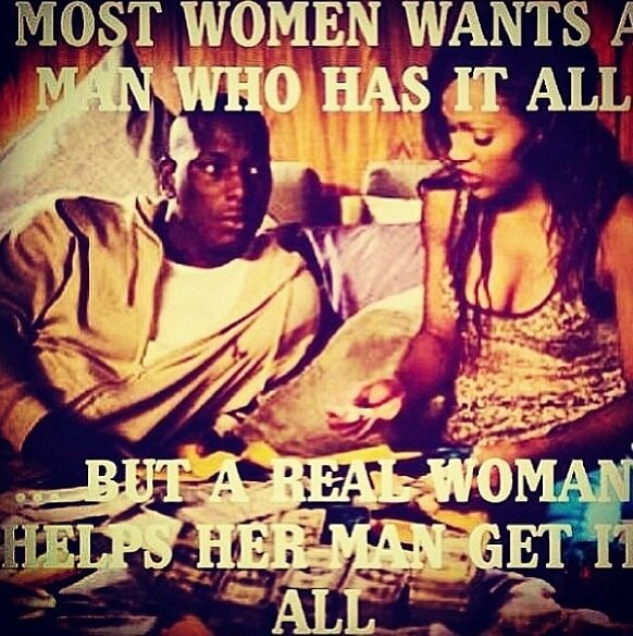 what does a woman want from her man